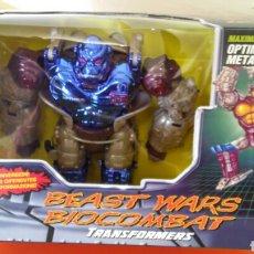 Figure e Bambolotti Transformers: BEAST WARS BIOCOMBAT TRANSFORMERS TRANSMETALS.MAXIMAL OPTIMUS PRIMAL GORILA.HASBRO 1998.SIN ABRIR.. Lote 240286240