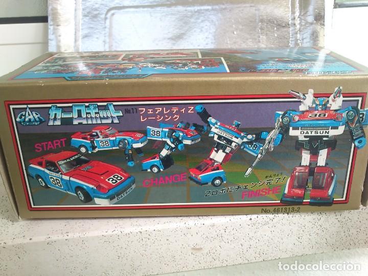 Figuras y Muñecos Transformers: Transformers Diaclone Fairlady Z G1 Vintage Takara 1980 Smokescreen totalmente nuevo sin jugar - Foto 2 - 240655815