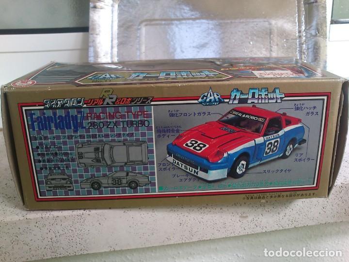 Figuras y Muñecos Transformers: Transformers Diaclone Fairlady Z G1 Vintage Takara 1980 Smokescreen totalmente nuevo sin jugar - Foto 4 - 240655815