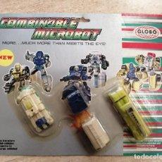 Figuras y Muñecos Transformers: COMBINABLE MICROBOT - METRO - GLOBO. Lote 241445100