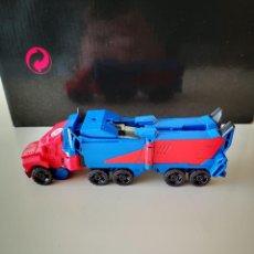 Figuras y Muñecos Transformers: CAMION TRANSFORMERS TAKARA HASBRO TRAILER COCHE AUTOBOT RARO. Lote 241723865