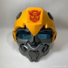 Figuras y Muñecos Transformers: MÁSCARA TRANSFORMERS CON VOZ BUMBLEBEE - FUNCIONA - BIEN CONSERVADA. Lote 241970630