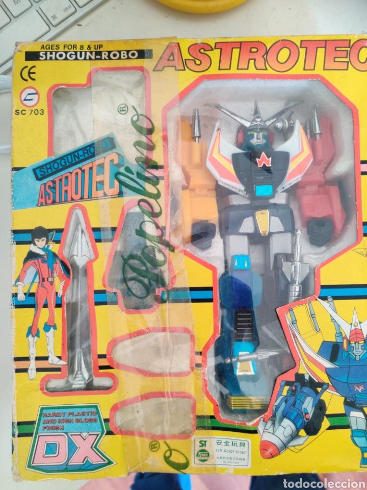 ASTROTEC SHOGUN CAJA ORIGINAL (Juguetes - Figuras de Acción - Transformers)