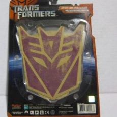 Figuras y Muñecos Transformers: PARCHES ROPA DE TRANSFORMERS - TAMAÑO GRANDE - 17X15 CM.- NUEVOS EN BLISTER !!. Lote 244492355