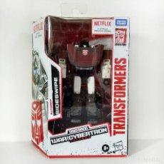 Figuras y Muñecos Transformers: TRANSFORMERS NETFLIX WFC SIEGE: SIDESWIPE, HASBRO, NUEVO.. Lote 244562705