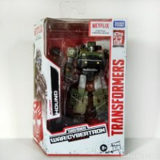 Figuras y Muñecos Transformers: TRANSFORMERS NETFLIX WFC SIEGE: HOUND, HASBRO, NUEVO.. Lote 244562960