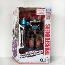 Figuras y Muñecos Transformers: TRANSFORMERS NETFLIX WFC SIEGE: SCRAPFACE, HASBRO, NUEVO.. Lote 244563135