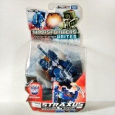 Figuras y Muñecos Transformers: TRANSFORMERS UNITED UN-10 STRAXUS (DELUXE) - 2010, NUEVO (TAKARA JAPAN). Lote 244565245
