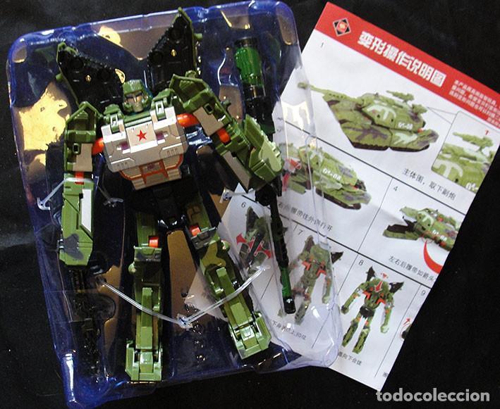 FIGURA TRANSFORMER TANQUE 01-08 - NUEVO, SIN CAJA - (Juguetes - Figuras de Acción - Transformers)