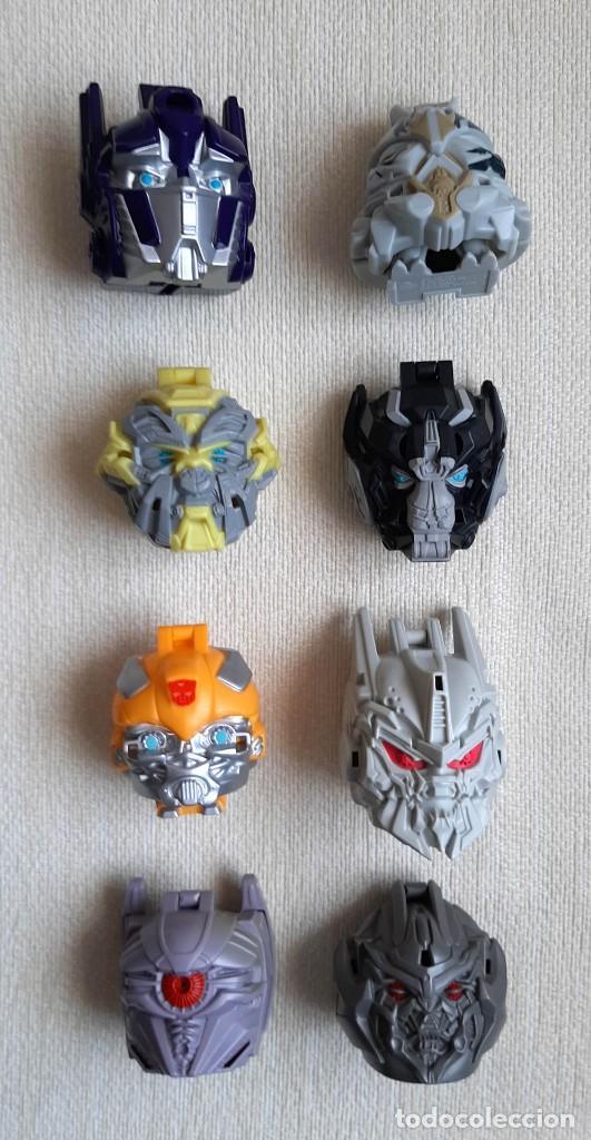 COLECCIÓN 100% COMPLETA PELÍCULA TRANSFORMERS 3 2011 PROMOCIONAL DE BURGER KING (Juguetes - Figuras de Acción - Transformers)