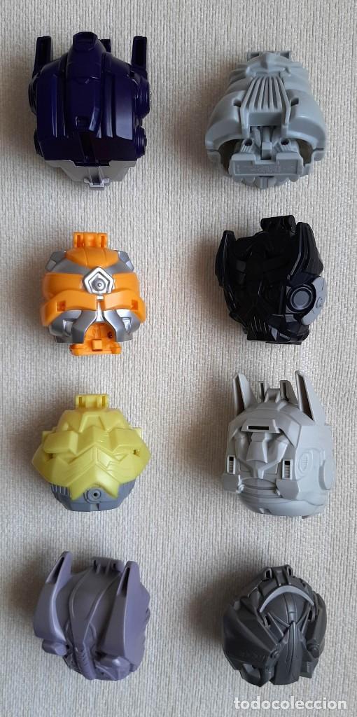 Figuras y Muñecos Transformers: Colección 100% completa película TRANSFORMERS 3 2011 promocional de Burger King - Foto 2 - 245391680