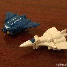 Figuras y Muñecos Transformers: TREAD BOLT Y EAGLE EYE, TRANSFORMERS MICROMASTER AIR PATROL DE HASBRO, AÑO 1990 TAKARA. Lote 246537320