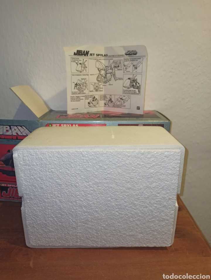 Figuras y Muñecos Transformers: JIBAN JET SPYLAS.1980 NUEVO - Foto 4 - 249388715