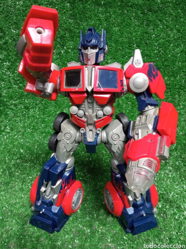 Figuras y Muñecos Transformers: FIGURA TRANSFORMER OPTIMUS PRIME DE HASBRO 28cm - Foto 2 - 254696070