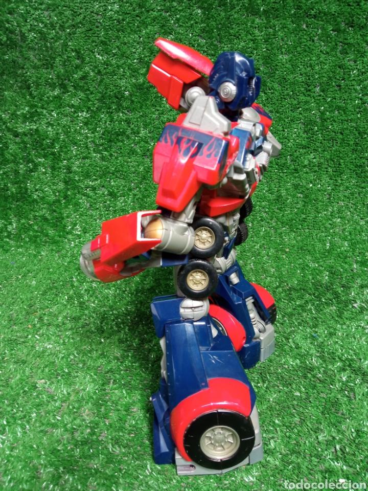 Figuras y Muñecos Transformers: FIGURA TRANSFORMER OPTIMUS PRIME DE HASBRO 28cm - Foto 3 - 254696070