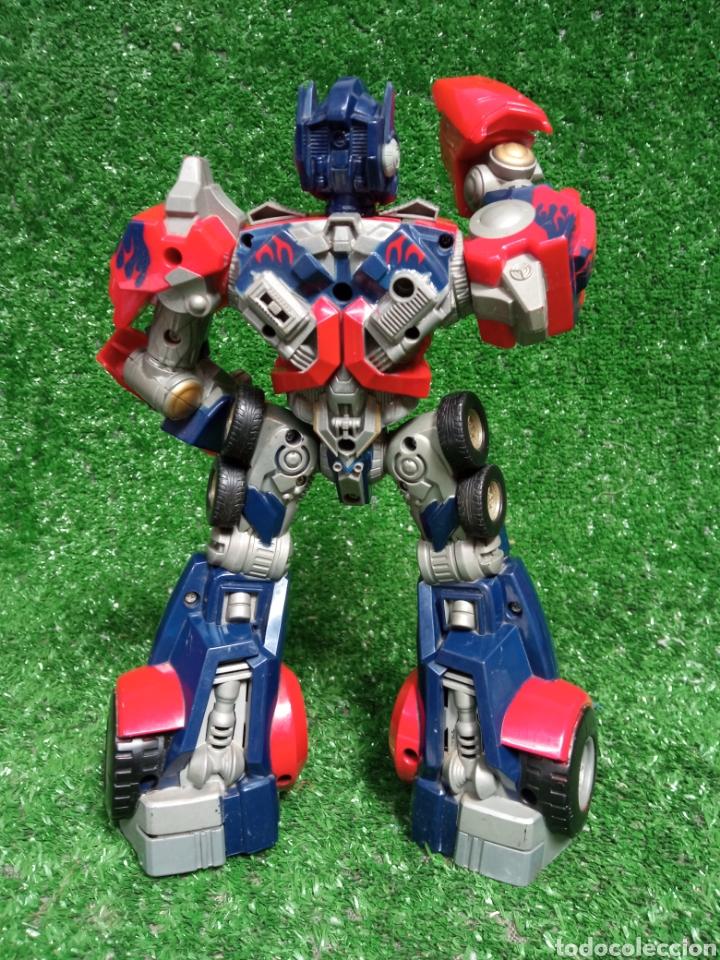 Figuras y Muñecos Transformers: FIGURA TRANSFORMER OPTIMUS PRIME DE HASBRO 28cm - Foto 4 - 254696070