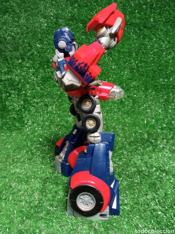 Figuras y Muñecos Transformers: FIGURA TRANSFORMER OPTIMUS PRIME DE HASBRO 28cm - Foto 5 - 254696070