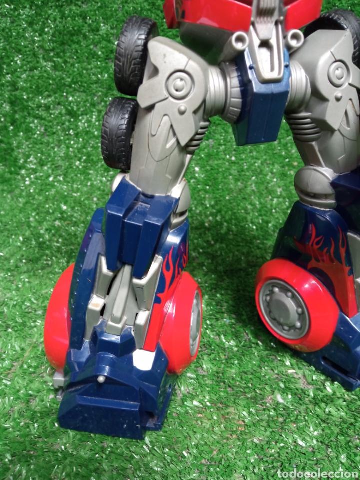 Figuras y Muñecos Transformers: FIGURA TRANSFORMER OPTIMUS PRIME DE HASBRO 28cm - Foto 6 - 254696070