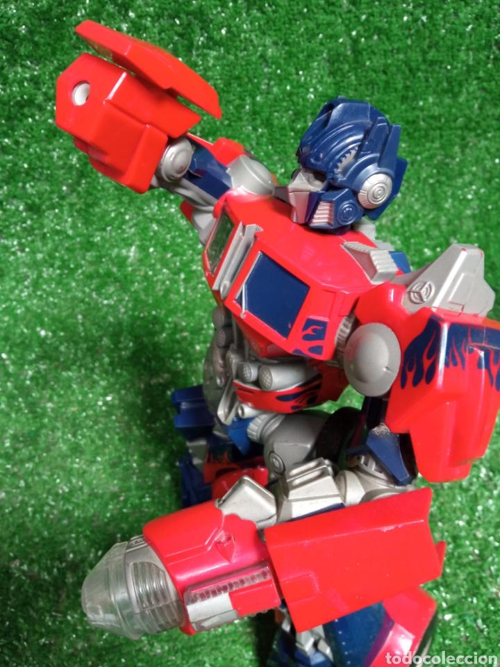 Figuras y Muñecos Transformers: FIGURA TRANSFORMER OPTIMUS PRIME DE HASBRO 28cm - Foto 8 - 254696070