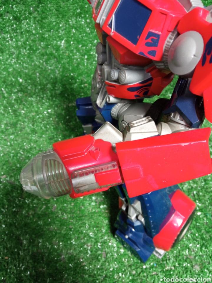 Figuras y Muñecos Transformers: FIGURA TRANSFORMER OPTIMUS PRIME DE HASBRO 28cm - Foto 9 - 254696070