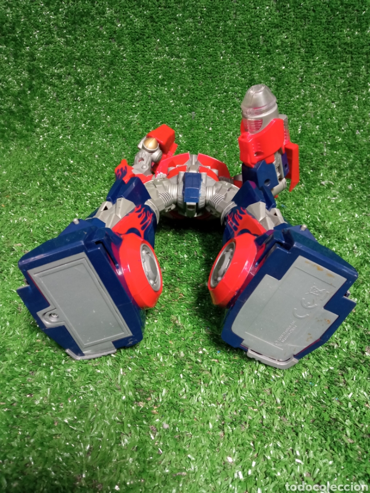 Figuras y Muñecos Transformers: FIGURA TRANSFORMER OPTIMUS PRIME DE HASBRO 28cm - Foto 10 - 254696070