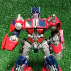 Figuras y Muñecos Transformers: FIGURA TRANSFORMER OPTIMUS PRIME DE HASBRO 28CM. Lote 254696070