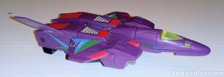 Figuras y Muñecos Transformers: TRANSFORMERS- AVION DE COMBATE- HASBRO TAKARA 91 - MADE IN MACAU- - Foto 2 - 275258208