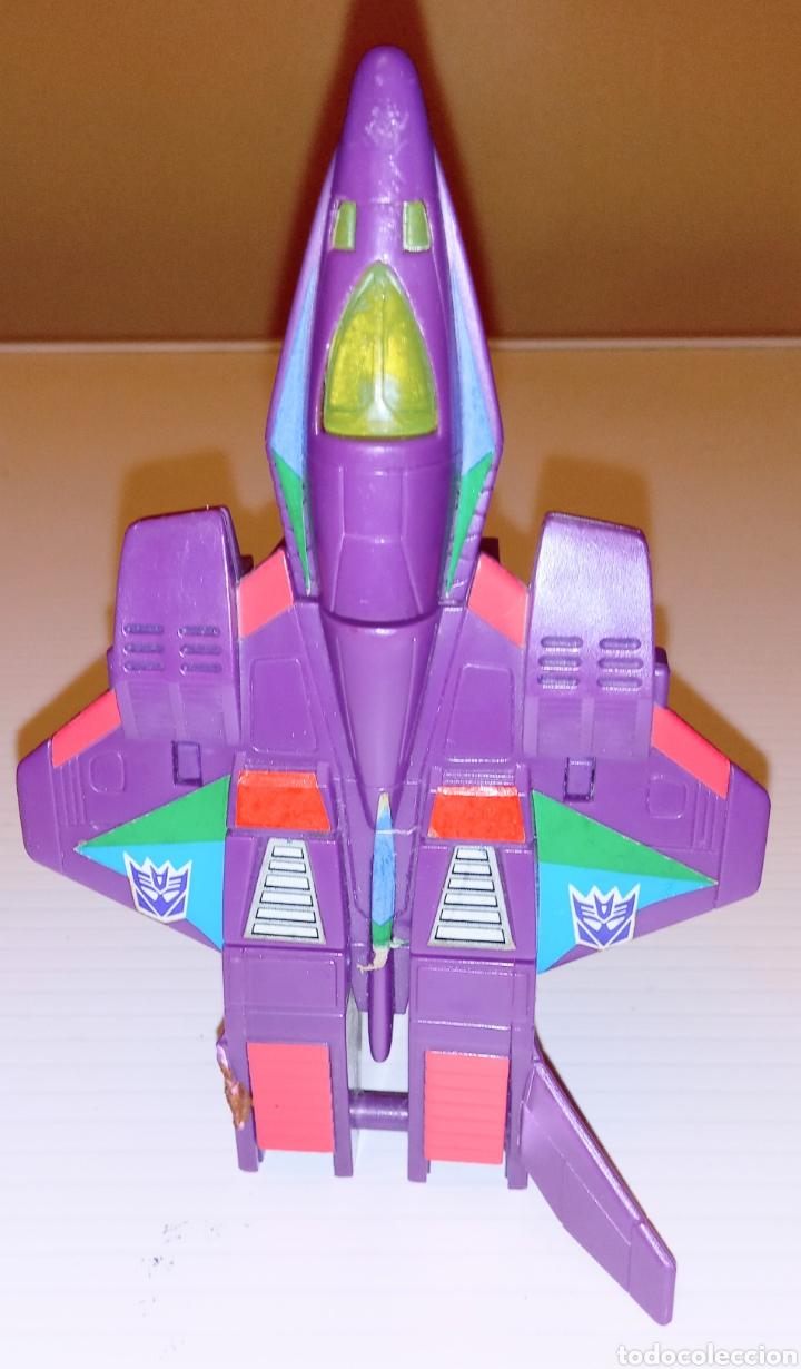 Figuras y Muñecos Transformers: TRANSFORMERS- AVION DE COMBATE- HASBRO TAKARA 91 - MADE IN MACAU- - Foto 3 - 275258208