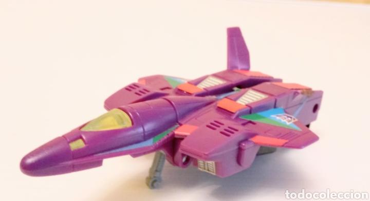 Figuras y Muñecos Transformers: TRANSFORMERS- AVION DE COMBATE- HASBRO TAKARA 91 - MADE IN MACAU- - Foto 4 - 275258208