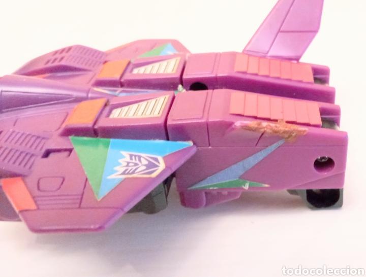 Figuras y Muñecos Transformers: TRANSFORMERS- AVION DE COMBATE- HASBRO TAKARA 91 - MADE IN MACAU- - Foto 5 - 275258208