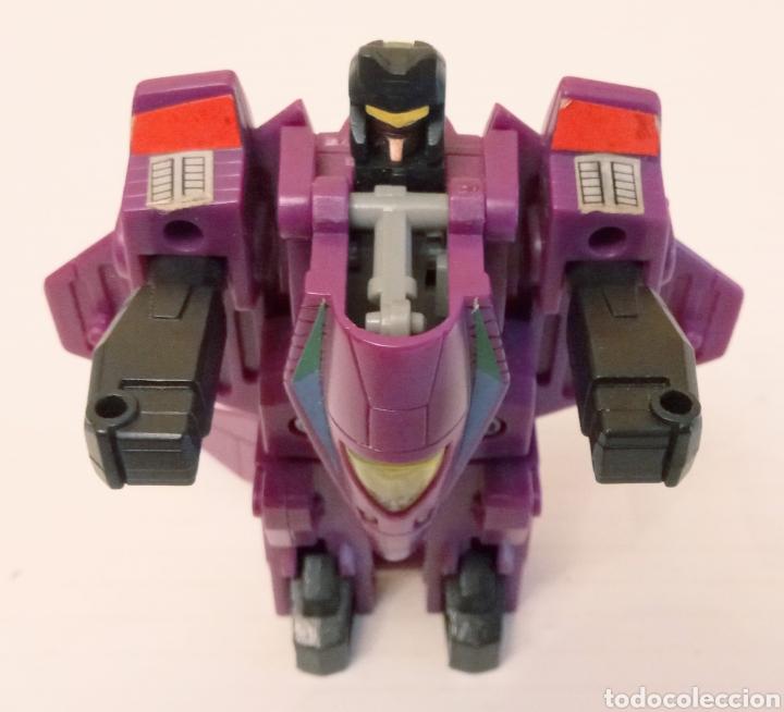 Figuras y Muñecos Transformers: TRANSFORMERS- AVION DE COMBATE- HASBRO TAKARA 91 - MADE IN MACAU- - Foto 6 - 275258208