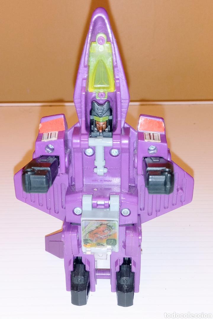 Figuras y Muñecos Transformers: TRANSFORMERS- AVION DE COMBATE- HASBRO TAKARA 91 - MADE IN MACAU- - Foto 8 - 275258208