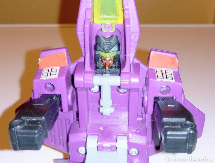 Figuras y Muñecos Transformers: TRANSFORMERS- AVION DE COMBATE- HASBRO TAKARA 91 - MADE IN MACAU- - Foto 9 - 275258208