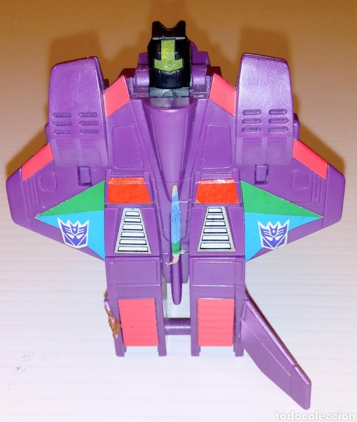 Figuras y Muñecos Transformers: TRANSFORMERS- AVION DE COMBATE- HASBRO TAKARA 91 - MADE IN MACAU- - Foto 12 - 275258208