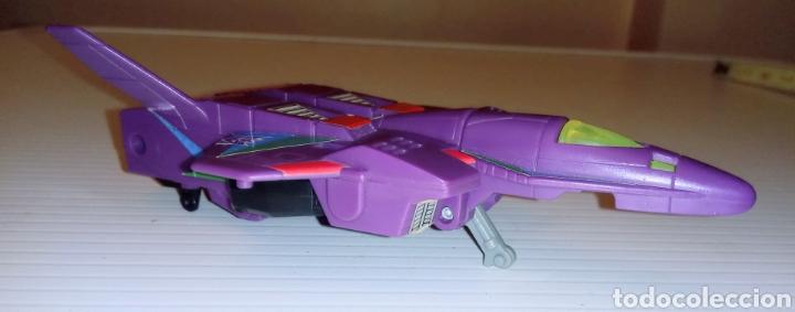 Figuras y Muñecos Transformers: TRANSFORMERS- AVION DE COMBATE- HASBRO TAKARA 91 - MADE IN MACAU- - Foto 13 - 275258208