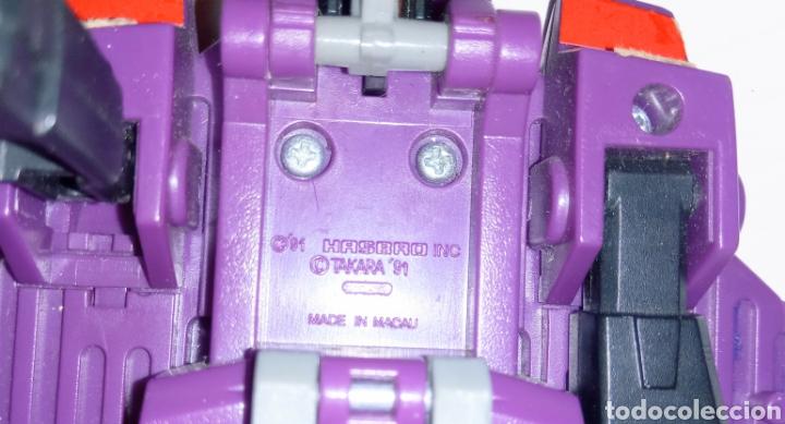 Figuras y Muñecos Transformers: TRANSFORMERS- AVION DE COMBATE- HASBRO TAKARA 91 - MADE IN MACAU- - Foto 15 - 275258208