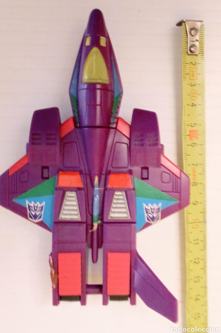 Figuras y Muñecos Transformers: TRANSFORMERS- AVION DE COMBATE- HASBRO TAKARA 91 - MADE IN MACAU- - Foto 19 - 275258208
