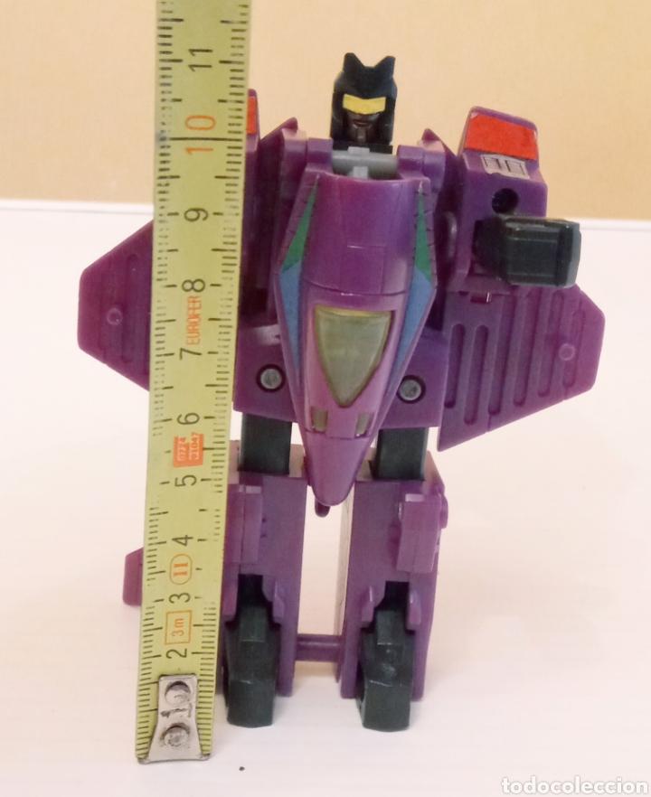 Figuras y Muñecos Transformers: TRANSFORMERS- AVION DE COMBATE- HASBRO TAKARA 91 - MADE IN MACAU- - Foto 20 - 275258208