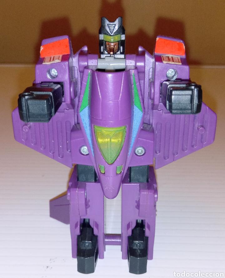 TRANSFORMERS- AVION DE COMBATE- HASBRO TAKARA 91 - MADE IN MACAU- (Juguetes - Figuras de Acción - Transformers)