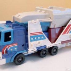 Figuras y Muñecos Transformers: TRANSFORMERS- CAMION =VEHICULOS ESPACIALES- HASBRO TAKARA 1990- GRAN TAMAÑO 30CM. Lote 260675225