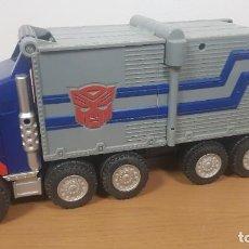 Figuras y Muñecos Transformers: CAMION TRANSFORMERS DE OPTIMUS PRIME DE HASBRO. Lote 262667095