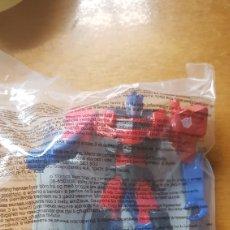 Figuras y Muñecos Transformers: FIGURA TRANSFORMERS OPTIMUS PRIME PREMIUM MUÑECO FIGURA COLECCIÓN MCDONALD'S MCDONALD 2017 NUEVO. Lote 263168680