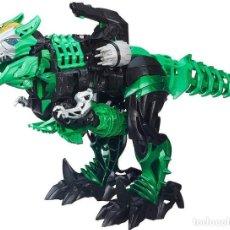 Figuras y Muñecos Transformers: TRANSFORMERS MARCA: HASBRO REFERENCIA B2488 ENCIENDE LOS OJOS EN VERDE Y EN ROJO 42 CM DE ALTURA. Lote 263743820