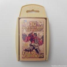 Figuras y Muñecos Transformers: TRANSFORMERS   TOP TRUMPS. Lote 266168113