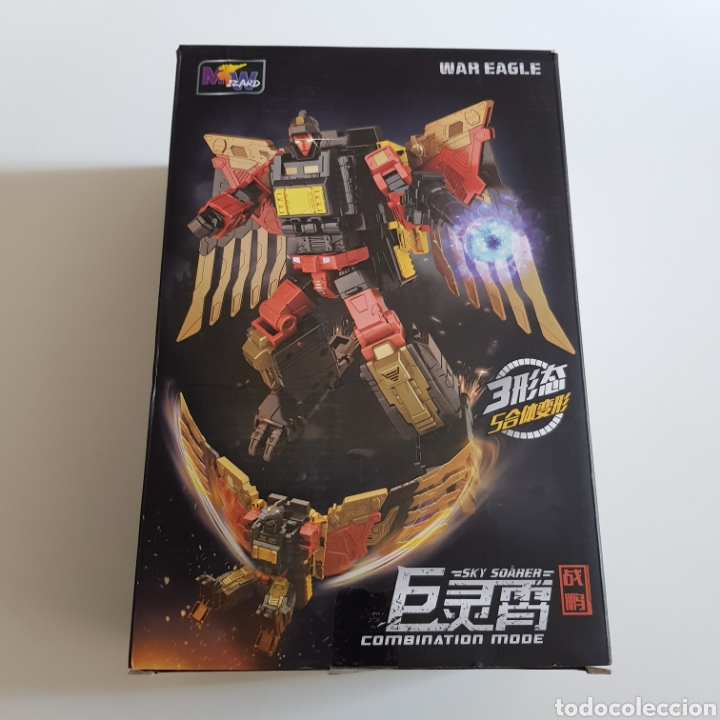 Figuras y Muñecos Transformers: Transformers | Wei Jiang | Sky Soarer (No Predaking) - Foto 4 - 267495289