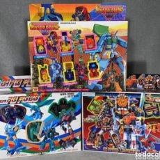 Figuras y Muñecos Transformers: LOTE X 3 BLISTER TRANSFORMERS AÑOS 80 - BIRD ROBO - CONSTRUCTION BOT - SUPER LIVE MAN - NUEVOS. Lote 268042039