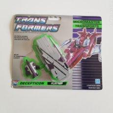 Figuras y Muñecos Transformers: TRANSFORMERS ESP   MICROMASTERS TRANSPORTS 1990   FLATTOP. Lote 268827624