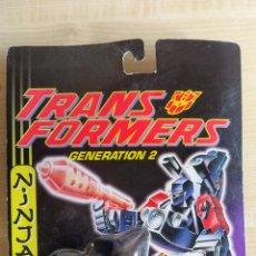 Figurines et Jouets Transformers: TRANSFORMERS GENERATION 2 LASERCYCLES NINJA ROAD PIG MOC NUEVO 1994 HASBRO. Lote 272052973
