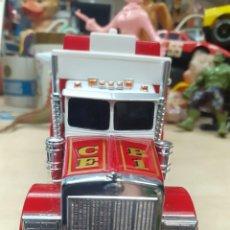 Figuras y Muñecos Transformers: TRANSFORMER CAMIÓN DE BOMBEROS KENWORTH.. Lote 274927603