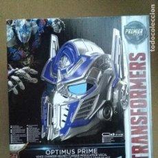 Figuras y Muñecos Transformers: TRANSFORMERS OPTIMUS PRIME MASCARA CASCO EN CAJA NUEVO.. Lote 275312878